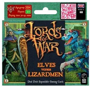 Lords of war elfos vs hombres lagarto