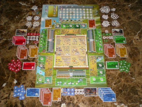 Componentes de Three Kingdoms Redux