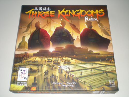 Portada de Three Kingdoms Redux