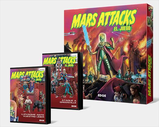Pack deluxe de Mars Attacks