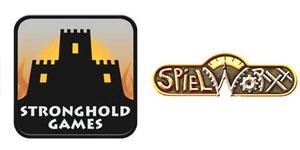 Logotipos de Stronghold Games y Spielworxx
