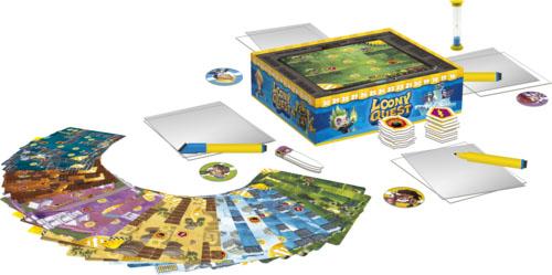 Componentes de Loony Quest