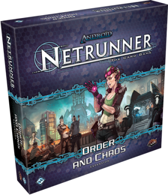 Netrunner - Order and Chaos Caja