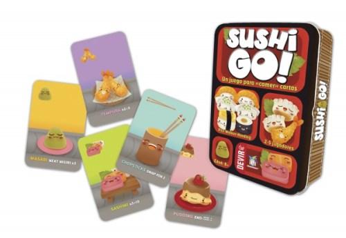 Sushi Go! se alza como mejor juego de mesa en la feria Ibertoy 2015