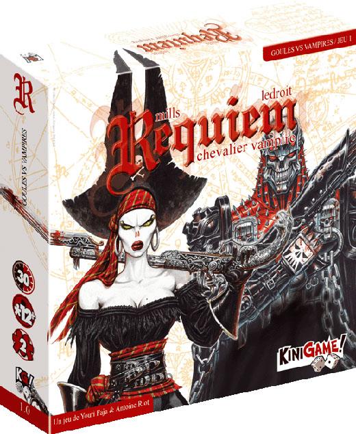 Portada de uno de los packs de Requiem Vampire Knight