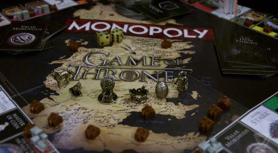 Tokens de Monopoly de Juego de Tronos