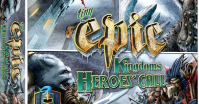 Portada de Tiny Epic Kingdoms Heroe's Call