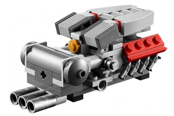 Motor Ferrari F40 de LEGO