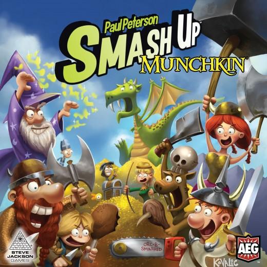 Portada de Smash Up Munchkin