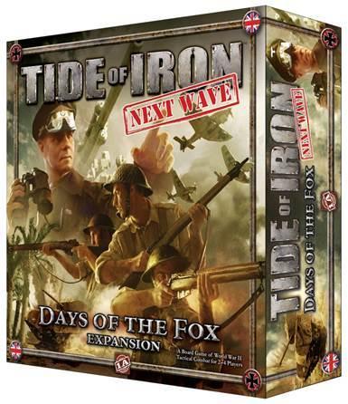 Portada de Tide of Iron days of the Fox