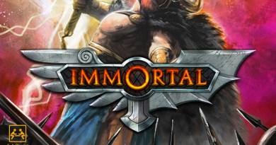 Portada de immortal
