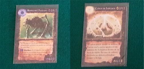 cartas de criaturas de land of rivals