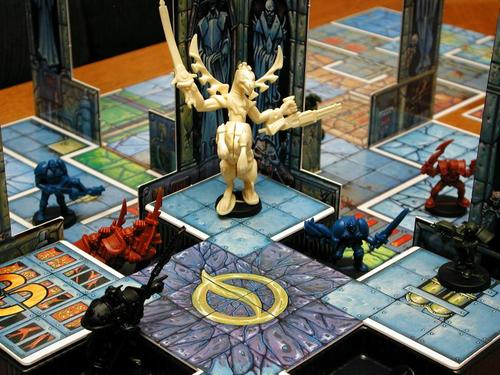 Detralle de una partida de Mutant Chronicles