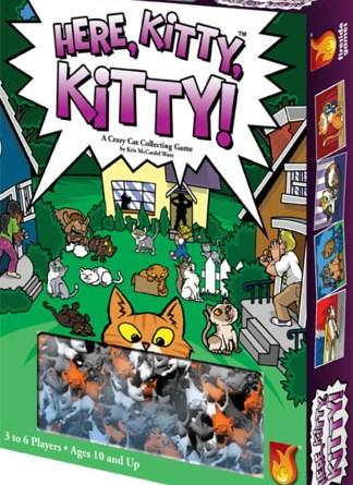 Portada de Here, Kitty, Kitty!