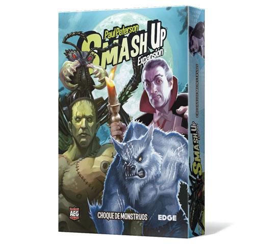 Portada de Smash Up choque de monstruos en castellano