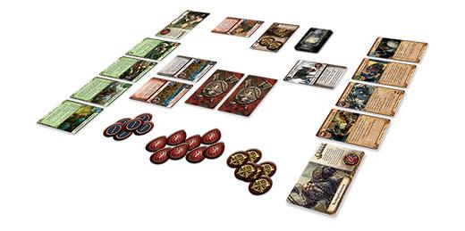 Despliegue inicial de Warhammer Quest el juego de cartas de aventuras