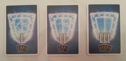 Cartas de escudo de Arcanya Magic Academy