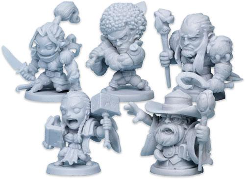 Miniaturas de Masmorra Dungeons of arcadia