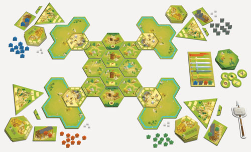 Componentes de Meeple war