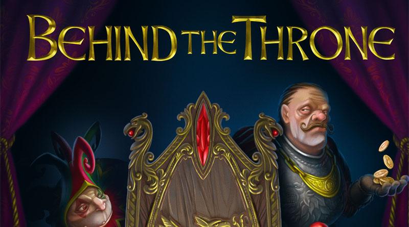Fragmento de la portada de Behind the throne