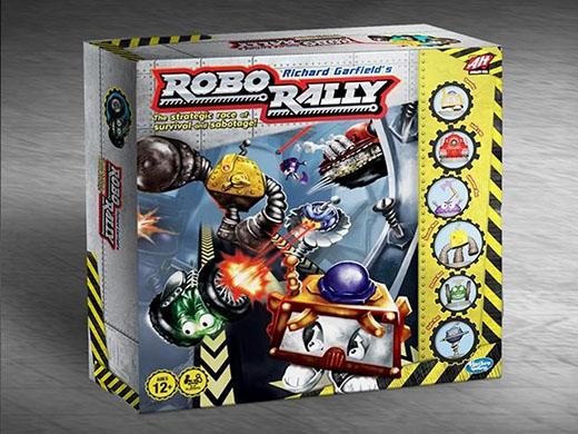 Portada de la nueva edición de Robo Rally