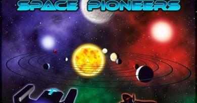 detalle de la portada de space Pioneers