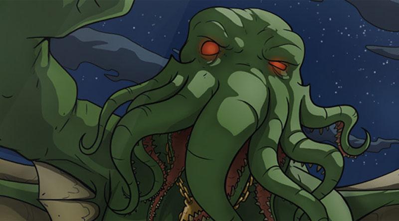 Ilustracion de Cthulhu Realms