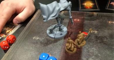 Partida a Dark Souls el juego de mesa