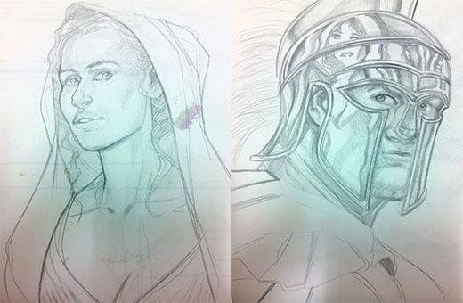 Bocetos de Emporion