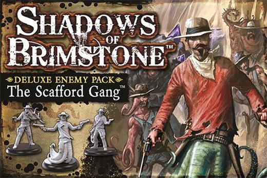 Scafford gang enemy pack de Shadows of Brimstone