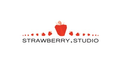 Logotipo de Strawberry Studio la nueva editorial de NSKN Games