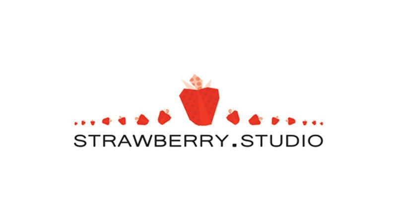 Logotipo de Strawberry Studio la nueva editorial de NSKN Games