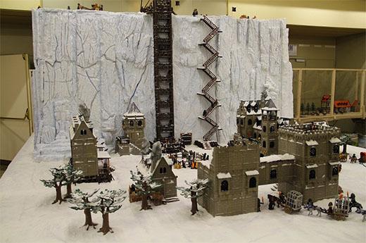 El muro de juego de tronos en playmobil