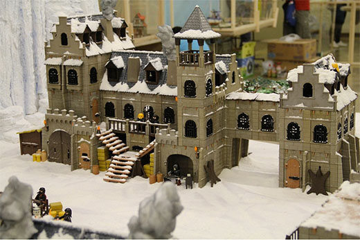 el castillo de juego de tronos en playmobil