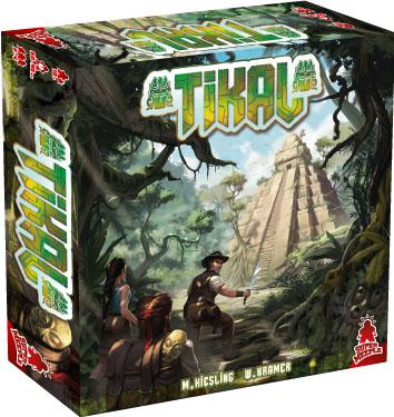 Portada de la nueva edición de Tikal que publicará maldito games