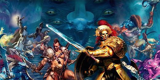 Arte bpromocional de warhammer quest