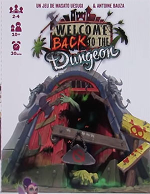 Portada de welcome back to the dungeon