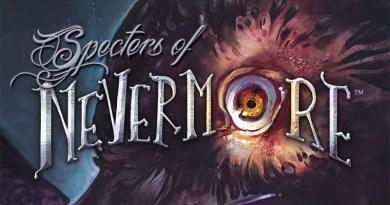 Detalle de la portada de Specters of Nevermore