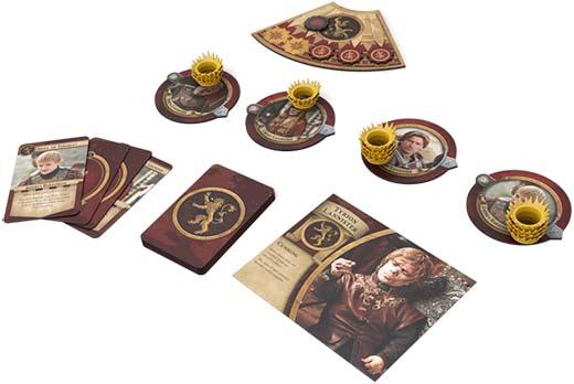 componentes de la casa lanyster de juego de tronos:el trono de hierro