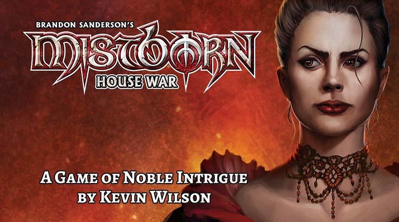 Ilustracion de Mistborn house war