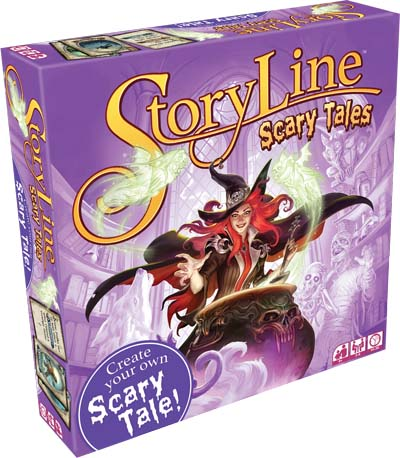 Portada de Storyline sacary tales de Asmodee