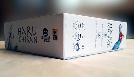 Detalle de la Caja de Haru Ichiban