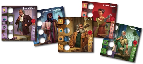Legendary inventors cartas de inventores