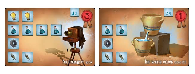 Legendary inventors cartas de inventos