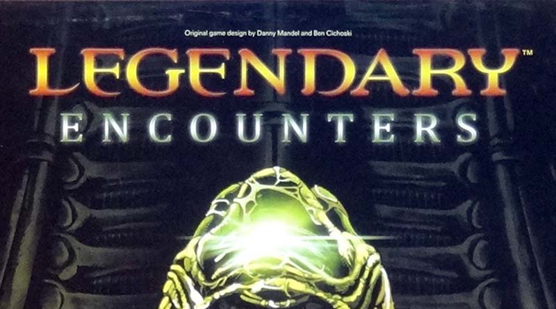 Logotipo de Legendary Encounters Alien