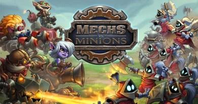 Arte gráfico de Mechs vs Minions