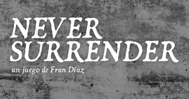Logotipo de Never Surrender