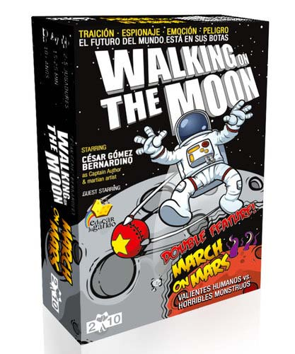 Portada de Walking on the Moon