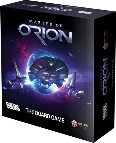Portada en inglés de Master of Orion