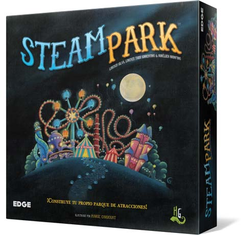 Portada de Steam Park